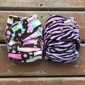 Goodmama One Size Fitted Cloth Diapers